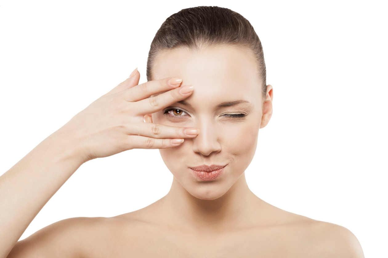 Gimnasia facial para ojos