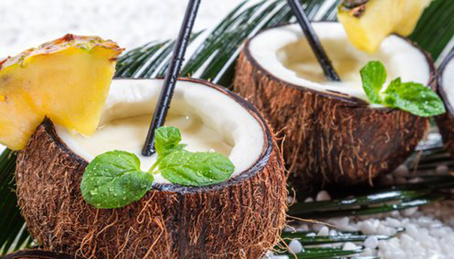 Belleza con aceite de coco
